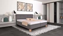 Čalouněná postel Mary 180x200, vč. matrace, pol.roštu a úp