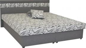 Čalouněná postel Mexico 180x200, šedá, včetně úp + dárek 2 polštáře