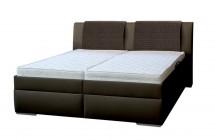 Čalouněná postel Mirror 2 180x200 cm, hnědá, s úložným prostorem