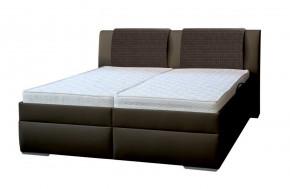 Čalouněná postel Mirror 2, 180x200, vč. roštu a úp, bez matrace + dárek 2 polštáře