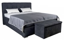 Čalouněná postel Trent 180x200, vč. matrace, poloh. roštu a úp