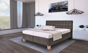 Čalouněná postel Victoria 160x200 vč. matrace, topperru a ÚP