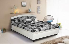 Čalouněná postel Zonda 120x200,šedá,bílá, vč. matrace a úp + dárek 2 polštáře