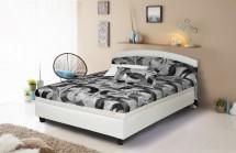 Čalouněná postel Zonda 120x200, vč. matrace a úp - II. jakost