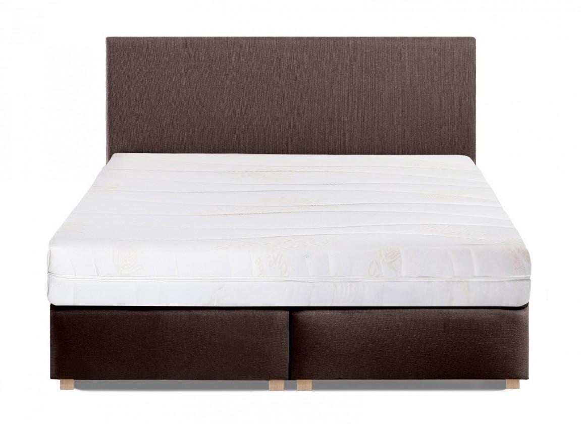 Čalouněná Toronto - 200x180, matrace Comfort Lux (luna 12/nožky dub lak)