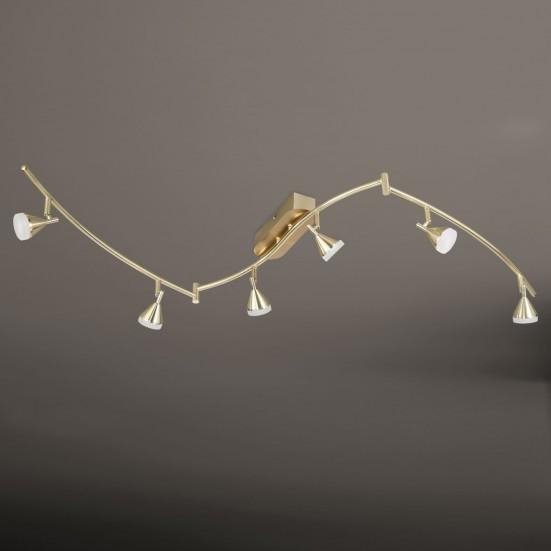 Cameron - Stropní osvětlení, LED (matná mosaz)