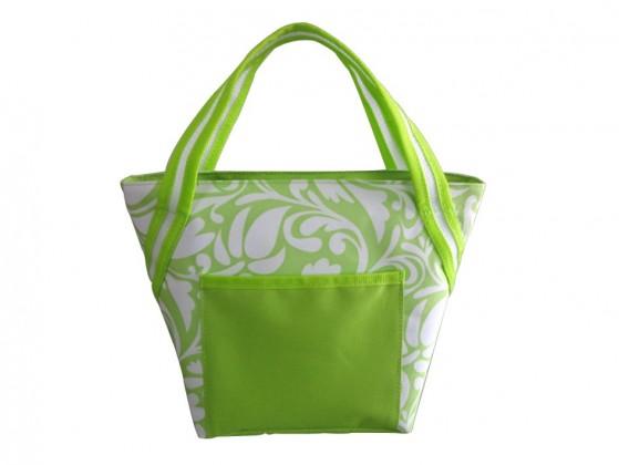 Camping Chladící taška malá (zelená, bílá)
