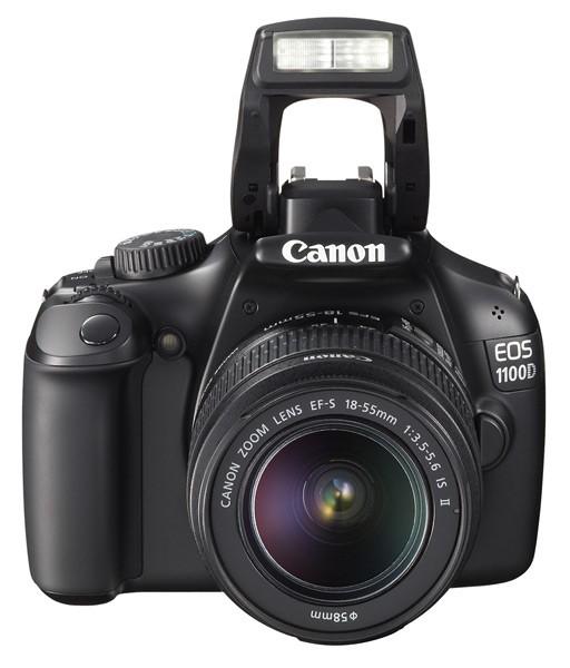 Canon EOS 1100D Grey + EF 18-55 IS II