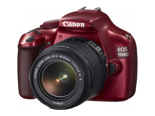 Canon EOS 1100D Red + EF 18-55 IS II