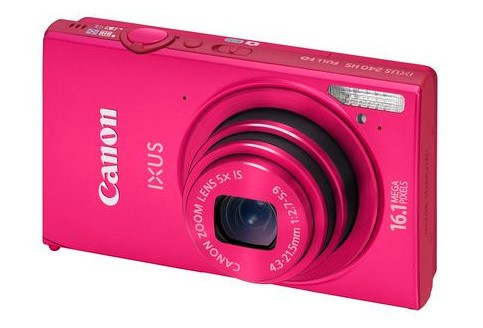 Canon IXUS 240 HS Pink