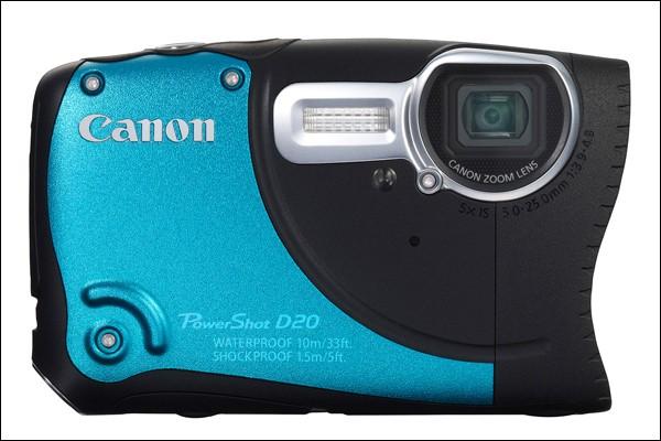 Canon POWERSHOT D20 Blue
