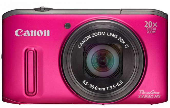 Canon POWERSHOT SX 240 HS Pink