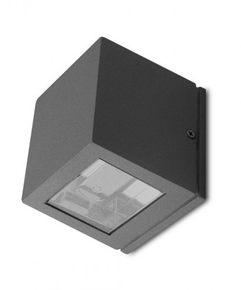 Canto - Venkovní nástěnné svítidlo, 2LED, 6W (hliník)