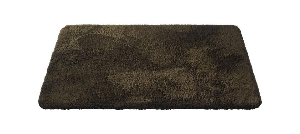Caresse - koupelnová předložka, 43x60 cm (hnědá)