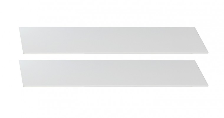 Cariba - Bočnice k dětské postýlce (san remo dub, bílá)