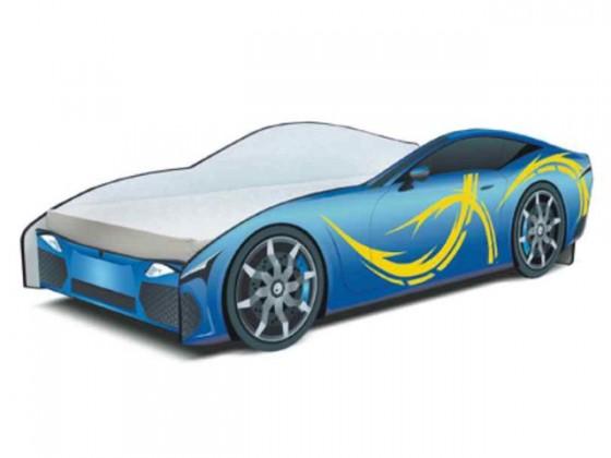 Cars - Dětská postel (modrá)