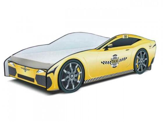 Cars - Dětská postel (žlutá)