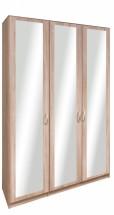 Cassanova - Šatní skříň (3x dveře se zrcadlem)