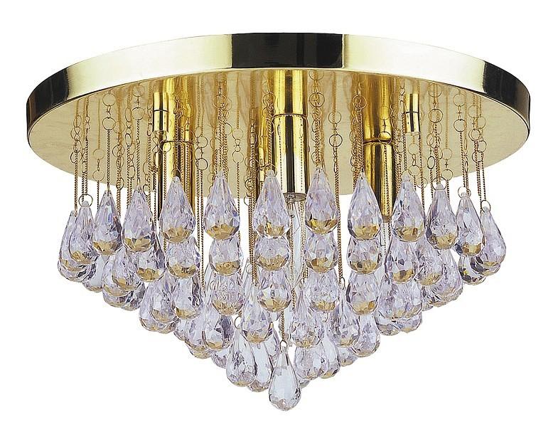 Celine - Stropní osvětlení, 8607 (zlatá/acrylic)