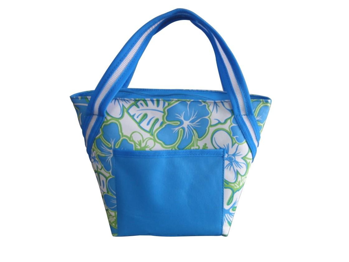 Chladící taška malá (modrá, zelená)