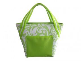 Chladící taška malá (zelená, bílá)