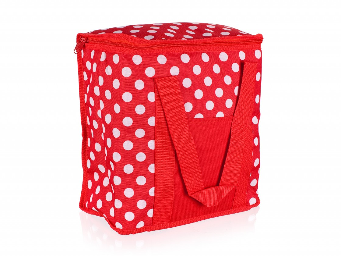 Chladící taška velká (červená, bílá)