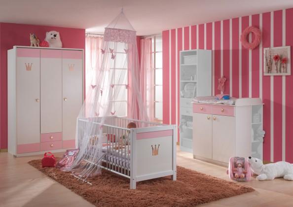 Cinderella - Set 5 (bílá, růžová)