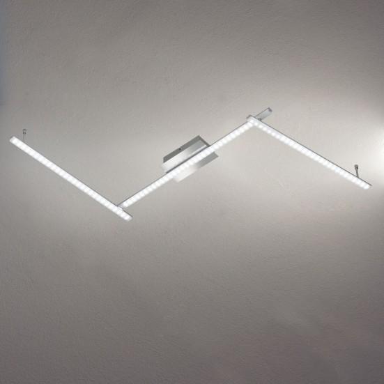 Clay - Nástěnné svítidlo, LED (chrom)