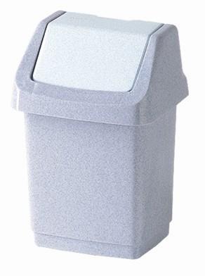 CLICK IT BINS, 1,5l (plast,šedá)