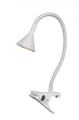 Click - lampička, 3W, LED (bílá)