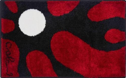 Colani 12 - Koupelnová předložka 60x100 cm (červená)