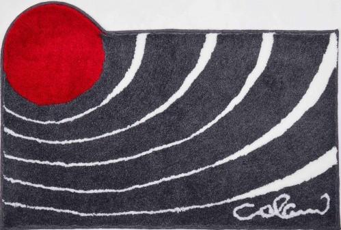 Colani 2 - Koupelnová předložka 60x100 cm (antracitová)