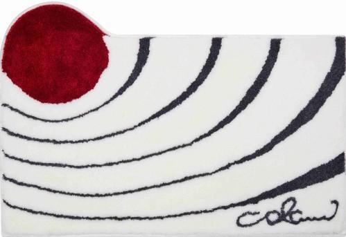 Colani 2 - Koupelnová předložka 60x100 cm (bílá)