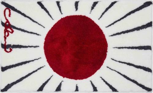 Colani 24 - Koupelnová předložka 70x120 cm (bílo-červené)