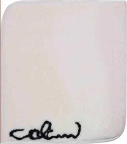 Colani 40 - Malá předložka 60x60 cm (bílá)