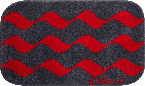 Colani 41 - Koupelnová předložka 70x120 cm (červená)