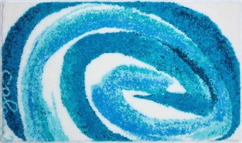 Colani 42 - Koupelnová předložka 70x120 cm (tyrkysová)