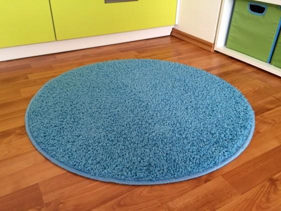 Color Shaggy - Koberec, 100 cm (světle modrá)