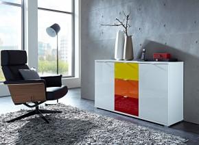 Colorado - Skříňka (bílá, žlutá, oranžová, červená)