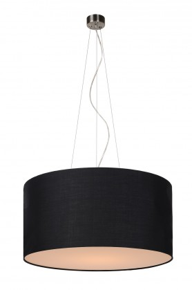 Coral - stropní osvětlení, 60W, E27 (černá)