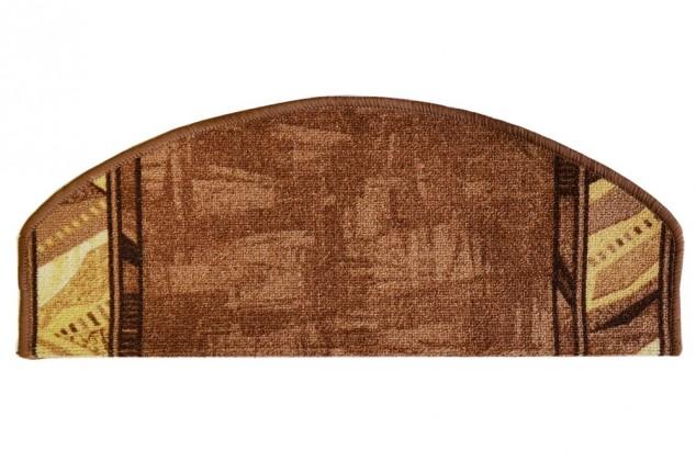 Corrido - Schodový nášlap, 28x65 cm (hnědá)