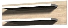 Cremona Plus CRMR01 (Jasan coimbra/bílá vysoký lesk)