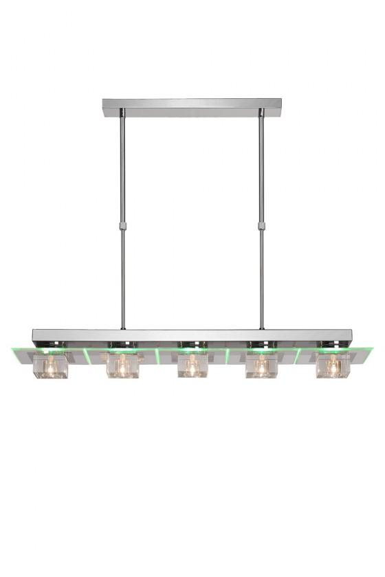Cristy - stropní osvětlení, 20W, 5xG4 (bílá)