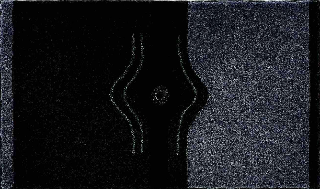 Crystal Light - Koupelnová předložka 60x100 cm (antracitová)