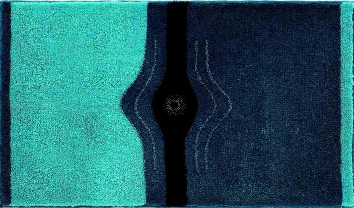 Crystal Light - Koupelnová předložka 60x100 cm (tyrkysová)