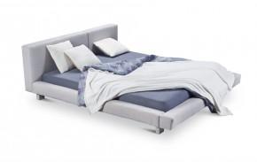 Cubito - rám postele, rošt, 2x matrace (200x200)