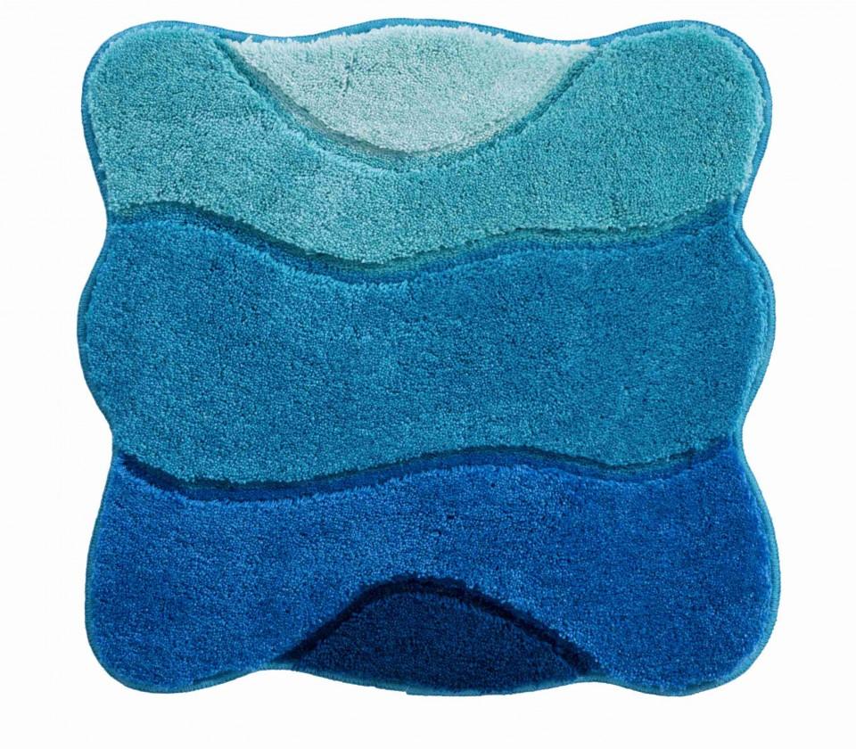 Curts - Koupelnová předložka malá 60x60 cm (modrá)