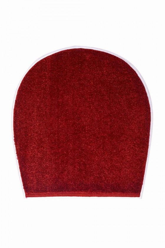 Curts - WC víko 47x50 cm (teplá červená)