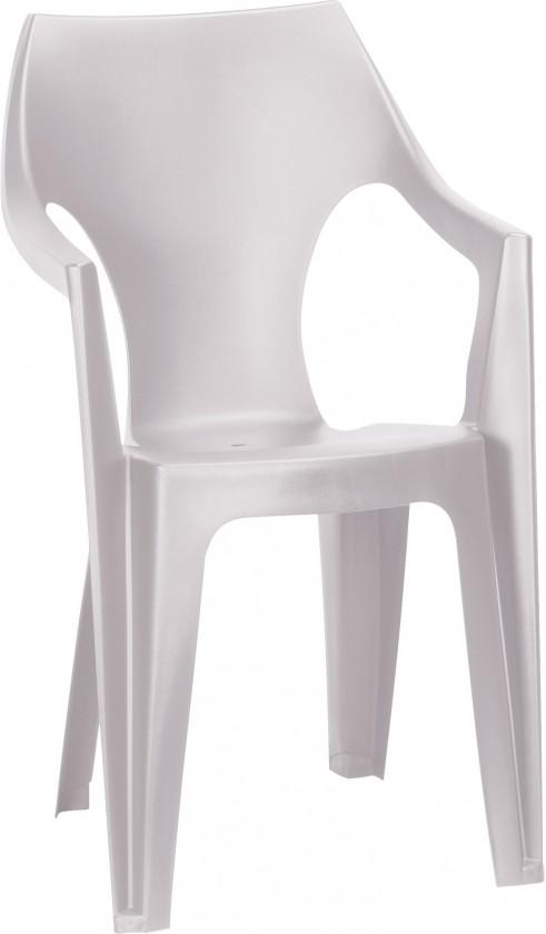 Dante - Židle, highback (bílá)