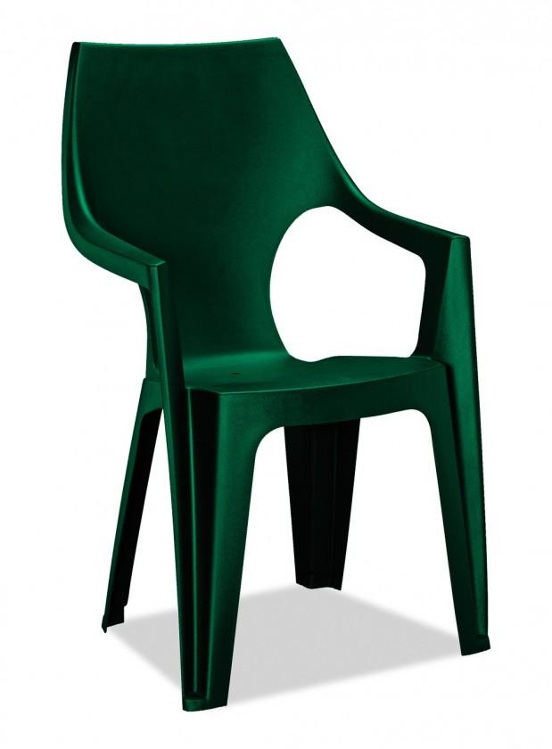 Dante - Židle, highback (tmavě zelená)